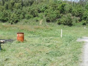 作業場前の草刈りを行いました