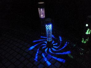 青色LEDでこんな幻想的な風景が楽しめます!