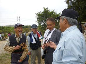 神谷町長も参加して皆さんと楽しく会話が弾みます!