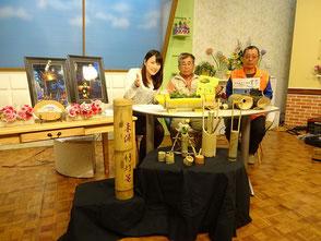 竹灯篭の会をしっかりPRしました