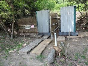フォレスタの坂元さんに感謝!手洗用水道を設置