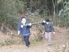 体力に合わせ、力を合わせて鈴木さん、吉田(幹)さん