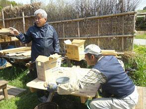 こちらは木村会長(左)と岡田さん