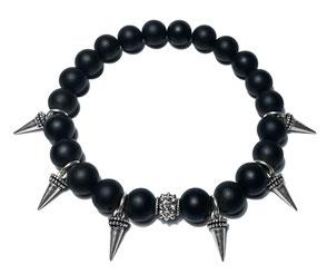 BEHERO Designer Armband Rose (Onyx matt)