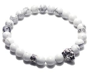 BEHERO Designer Armband Lion (weiß)