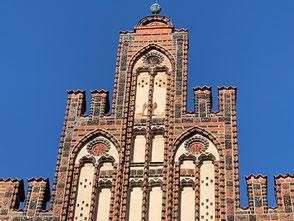 Rostock - Altes Kaufmannshaus aus dem 15. Jh.