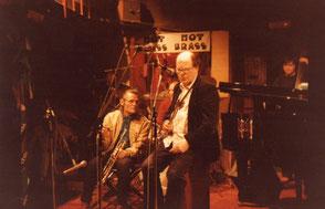 Chet Baker, J.Pelzer, C.Le Van au Club de Jazz du Hot Brass à Aix en Provence