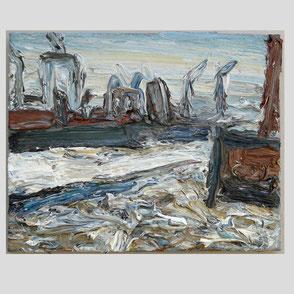 Neue Sachlichkeit - Hof in Holstein