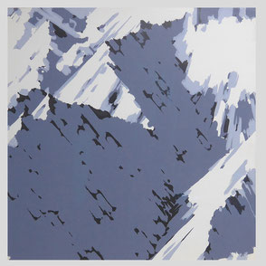 Gerhard Richter - Schweizer Alpen