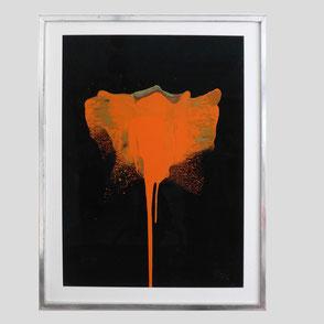 Otto Piene - Rote Blume