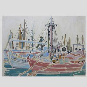 Siegward Sprotte - Fischerboote