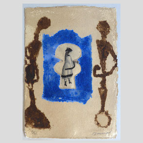 Anonym - Biedermeier-Kinderporträt