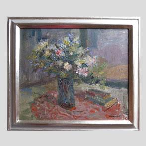 Albert Feser - Blumen und Buch