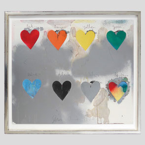 Jim Dine - Seven Hearts