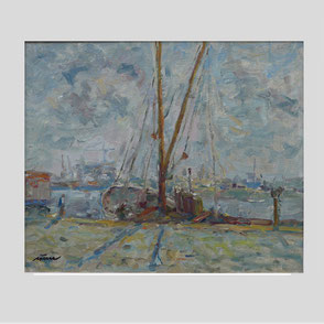 Albert Feser - Altonaer Hafen