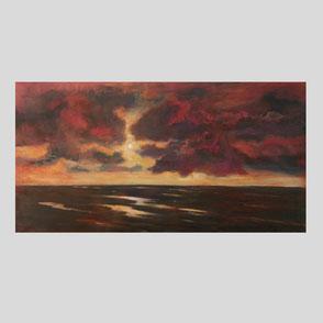 Gröning - Sonnenaufgang im Sylter Watt