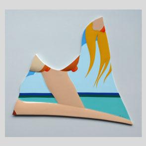 Tom Wesselmann - Porzellanobjekt 1984