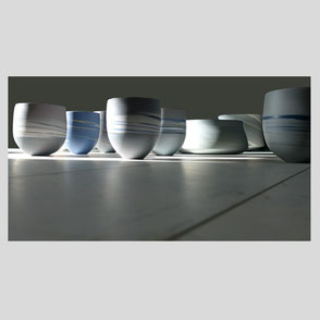 Rainer Doss - Porzellanobjekt
