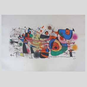 Miro - La Fete, Gran Composition