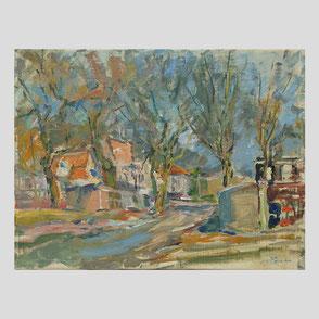 Albert Feser - Blick auf die Elbe