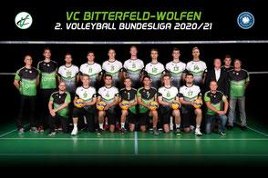 Die BiWo´s 2. Volleyball Bundesliga Team des VC Bitterfeld Wolfen