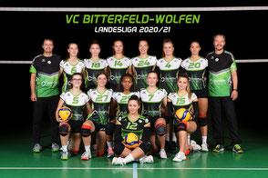 3. Damen Volleyball Landesliga des VC Bitterfeld-Wolfen
