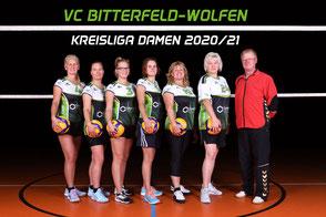5. Damen Volleyball Kreisklasse des VC Bitterfeld-Wolfen