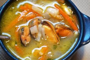 Fischsuppe aus Bremerhaven