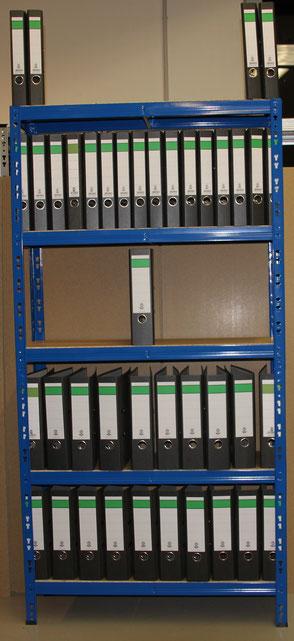 archivregal für ordner