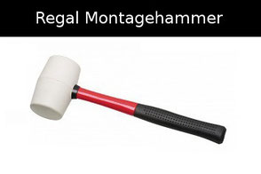 montagehammer schwarz fester griff