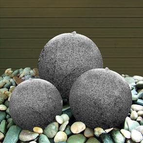 heller granit brunnen