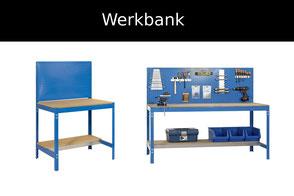 werkbank blau