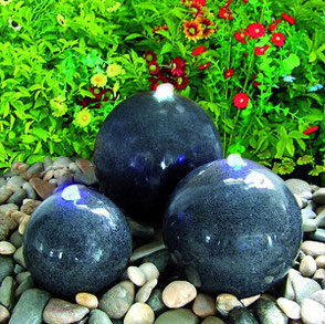 granit brunnen dunkel
