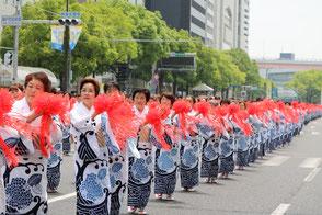 神戸まつり 総踊り