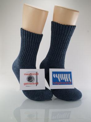 Bild: Socken im Trockner Sport- und Arbeitssocken, Strumpf-Klaus