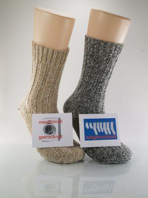 Bild: Socken im Trockner Norwegersocken, Strumpf-Klaus