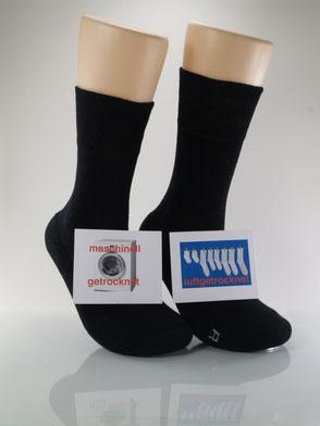 Bild: Socken im Trockner Extra weit Frotteesohle, Strumpf-Klaus