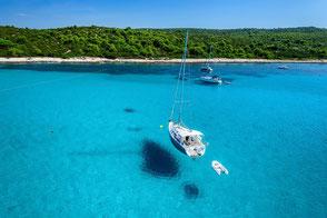 Dugi Otok - RYA Segel- und Seefahrtschule Kroatien - White Wake Sailing