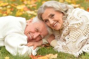 couple âgé heureux
