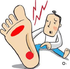 様々な足のトラブル