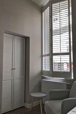 holzlamellen f r verschattung und sichtschutz shutters hamburg. Black Bedroom Furniture Sets. Home Design Ideas