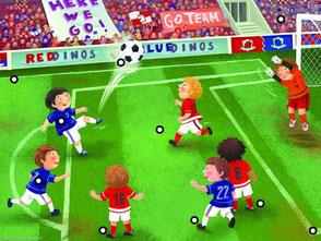 interactieve praatplaat voetbal