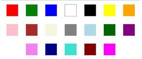 kleuren leren kennen