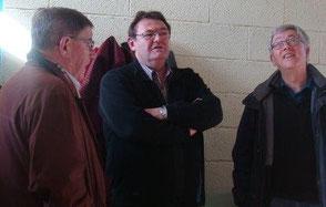 Père Yves LAOT, et M. le Maire, Guy PENNEC
