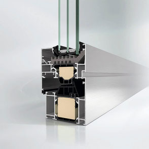 Aluminiumfenster GW2510 bei Walz Bauelemente in Hasselroth