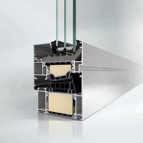 GW2710 Aluminiumfenster bei Walz Bauelemente