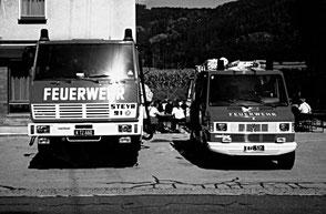 RLFA 2000 und KLF Pischeldorf beim Tag der offenen Tür