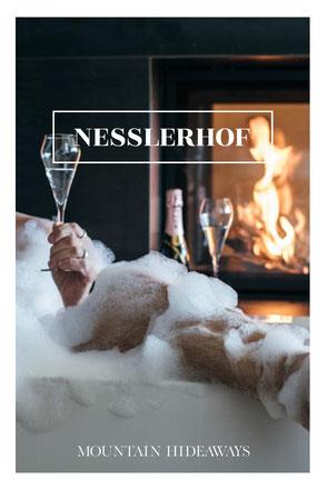 12 spektakuläre Hotel-Badewannen in den Alpen! Im NESSLERHOF ist die überschäumende Urlaubsfreude in privater Atmosphäre garantiert! #wellnesshotel #luxushotel #grossarl #salzburgerland #skihotel #wanderhotel #mountainhideaways