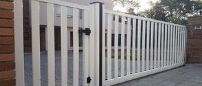 Puerta corredera de PVC