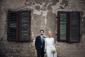 Brautpaar auf schloss kartzow